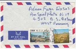 Lebanon, Airmal Letter Cover Travelled 1971 Tripoli Pmk B180122 - Liban
