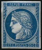 ** N°4d 25cbleu, Réimp - TB - France