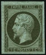 ** N°11 1c Olive - TB - 1853-1860 Napoleon III