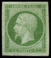 ** N°12 5c Vert, Pièce De Luxe - TB - 1853-1860 Napoleon III