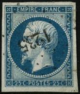Oblit. N°15 25c Bleu - TB - 1853-1860 Napoleon III