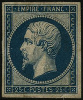* N°15c 25c Bleu Clair - TB - 1853-1860 Napoleon III
