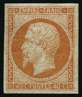 ** N°16 40c Orange - TB - 1853-1860 Napoleon III
