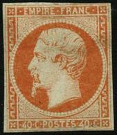 * N°16 40c Orange, Petites Marges - B - 1853-1860 Napoleon III