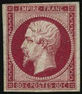 * N°17B 80c Rose - TB - 1853-1860 Napoleon III