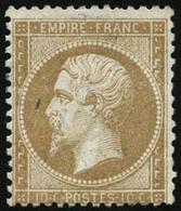** N°21 10c Bistre - B - 1862 Napoleon III