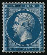 ** N°22 20c Bleu - TB - 1862 Napoleon III