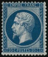 * N°22 20c Bleu - TB - 1862 Napoleon III