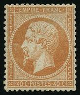 ** N°23 40c Orange - TB - 1862 Napoleon III