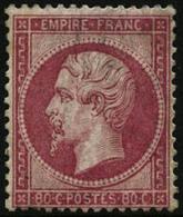 ** N°24 80c Rose - TB - 1862 Napoleon III