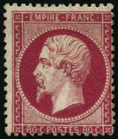 * N°24 80c Rose - TB - 1862 Napoleon III