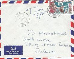 Congo 1984 Mindouli Alexei Leonov Neil Armstrong Apollo Moon Landing Cover - Afrika