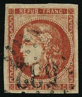 Oblit. N°48 40c Orange - TB - 1870 Bordeaux Printing