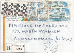 Congo 1978 Mindouli Ship Art Registered Cover - Congo - Brazzaville