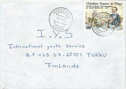 Congo 1990 Mossendjo Telegramme Morse Invention Cover - Congo - Brazzaville