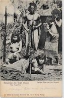 CPA Argentine Non Circulé Type Indien Femme Nue Nu Féminin Ethnic - Argentina