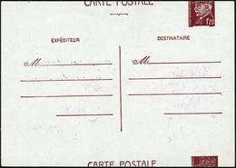 ** N°515-CP1 Entier Avec Découpe Au Milieu Du Timbre - TB - Postal Stamped Stationery