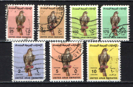EMIRATI ARABI UNITI - 1990 - FAUNA - UCCELLO - FALCO - USATI - Emiratos Árabes Unidos