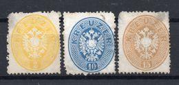 AUSTRIA  1863 , NO GUM  , Perforation 14 - 1850-1918 Empire