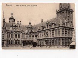 NELS Série 80 N° 3    -  FURNES  -  Hôtel De Ville Et Palais De Justice - Belgique