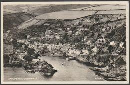 Polperro, Cornwall, 1955 - Aero Pictorial RP Postcard - England