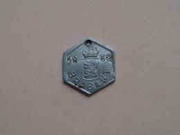 Belasting Op HONDEN BRABANT 1952 - 80815 / Belgique - België ( TOKEN For Dog / Chien TAX / For Detail, Zie Photo ) ! - Unclassified