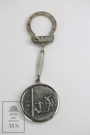 Vintage FIFA World Cup Spain 1982, 5 Pesetas Keyring/ Keychain - Llaveros
