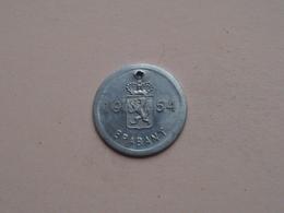 Belasting Op HONDEN BRABANT 1954 - 79160 / Belgique - België ( TOKEN For Dog / Chien TAX / For Detail, Zie Photo ) ! - Belgique