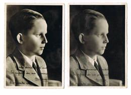 Prince Baudouin  2 Cartes 1941 - Familles Royales