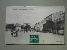 GARD VERGEZE PLACE DE LA REPUBLIQUE - Vergèze