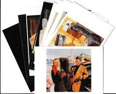 Publicité Lot N°6 De 10 Cartes-COCA-COLA ART Ou PUBLICITE Rétrospective 20/12/95-27/2/96 CARROUSEL Du LOUVRE *PRIX FIXE - Publicité