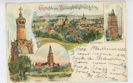 ALLEMAGNE - Gruss Aus BRANDENBURG (1901) - Brandenburg