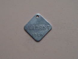 Belasting Op HONDEN BRABANT 1960 - 67077 / Belgique - België ( TOKEN For Dog / Chien TAX / For Detail, Zie Photo ) ! - Unclassified