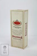Empty Strathisla Pure Malt Scotch Whisky 1981 Lady Diana Presentation Box - Otras Colecciones
