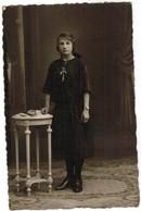 Portret Jonge Dame, Portrait, Fotokaart, Carte Photo, Deryckere Gulleghem, Gullegem (pk41760) - Illustrateurs & Photographes