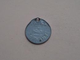 Belasting Op HONDEN BRABANT 1962 - 19415 / Belgique - België ( TOKEN For Dog / Chien TAX / For Detail, Zie Photo ) ! - Unclassified