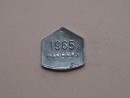 Belasting Op HONDEN BRABANT 1965 - 020038 / Belgique - België ( TOKEN For Dog / Chien TAX / For Detail, Zie Photo ) ! - Belgique