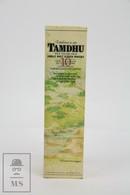 Empty Tamdhu 10 Years Old Malt Scotch Whisky Presentation Box - Otros