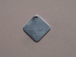Belasting Op HONDEN BRABANT 1969 - 019851 / Belgique - België ( TOKEN For Dog / Chien TAX / For Detail, Zie Photo ) ! - Belgique