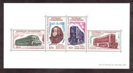 Projet De Voie Ferrée Bangui-Douala - 1963 - Centrafricaine - BF 1 - Neuf ** - Trains