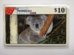 RARE    AUSTRALIA  EZI  LIMITED  PHONECALL  $10   KOLALA - Australia