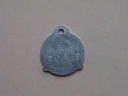 Belasting Op HONDEN BRABANT 1973 - 20449 / Belgique - België ( TOKEN For Dog / Chien TAX / For Detail, Zie Photo ) ! - Unclassified
