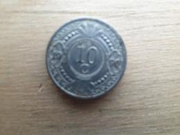 Antilles  Neerlandaises    10  Cents  1990  Km 34 - Antilles Neérlandaises