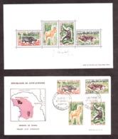 Côte-d'Ivoire - 1963 - BF N° 2 - Neuf ** Signé Par Combet + Enveloppe Premier Jour De La Série - Réserve De Bouna - Côte D'Ivoire (1960-...)