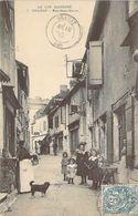 GRAMAT - Rue Saint Pierre - CAFÉ - LIBRAIRIE - ENFANTS - Lot - 46 - Gramat