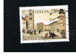 ITALIA REPUBBLICA  - UNIF. 2149  -   1994 MISERICORDIA, FIRENZE   -            USATO - 6. 1946-.. Repubblica