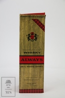 Empty Vintage Always Scotch Whisky By Danielson Argentina Presentation Box - Otras Colecciones