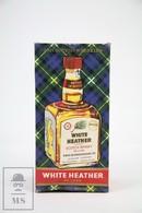Empty Vintage White Heather 1960 Scotch Whisky De Luxe Presentation Box - Otras Colecciones