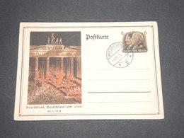 ALLEMAGNE - Entier Postal Patriotique De Wiesbaden En 1935 - L 12767 - Allemagne