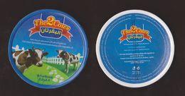 AC -  THE TWO COWS TRIANGLE TRIANGULAR CREAM CHEESE EMPTY BOX - Cheese
